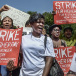 Fast-Food Workers Seek Government Guns to Back Demands