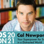 Cal Newport to Speak at TOS-Con 2021